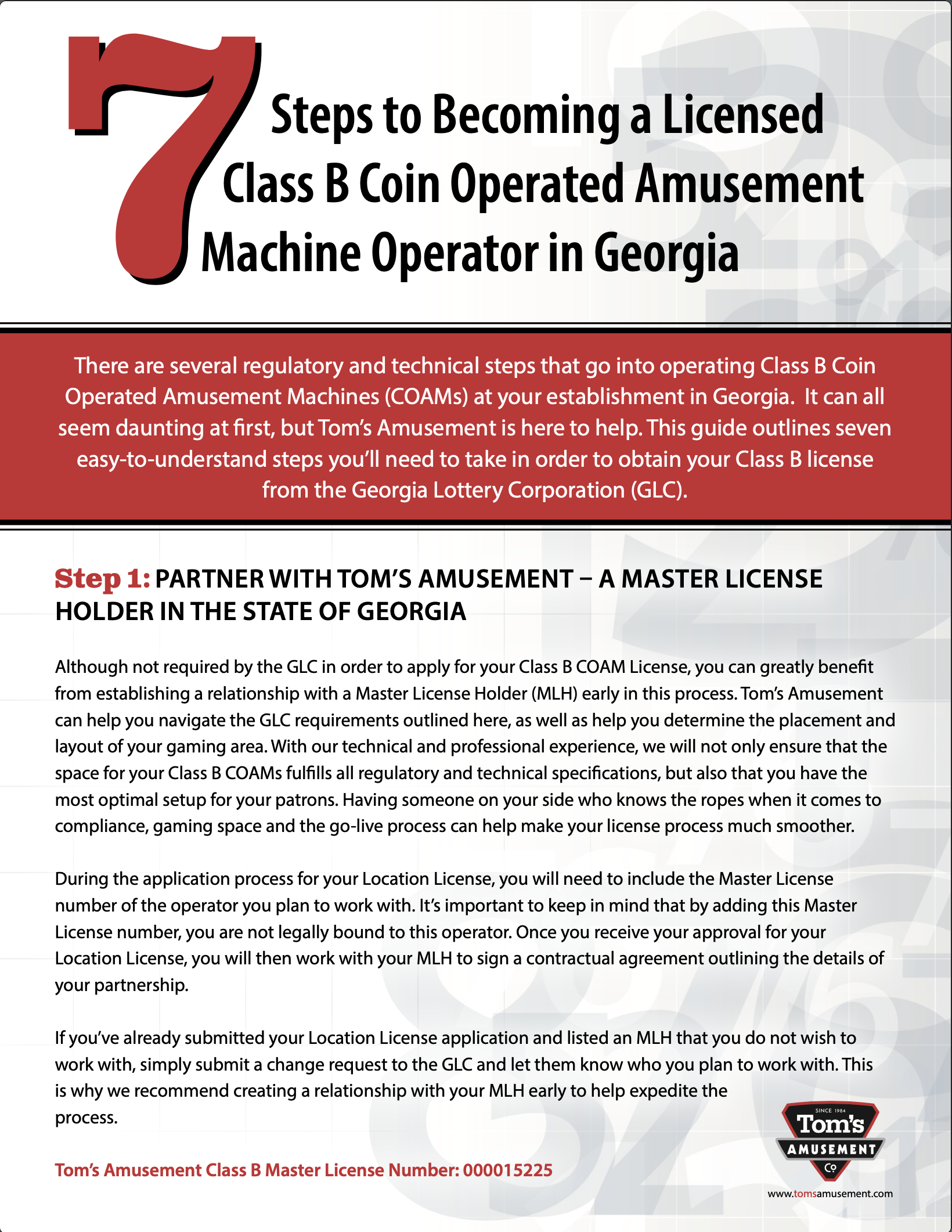 7 Steps to Becoming a Licensed Class B COAM Operator in GA_GA Content Offer_2021_HighRes